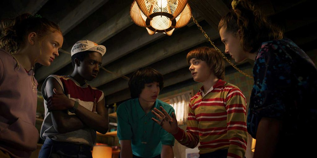Loud and Clear reviews Stranger Things group
