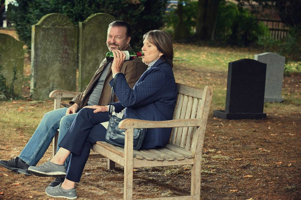 Loud and Clear reviews After Life 2 Ricky Gervais Penelope Wilton