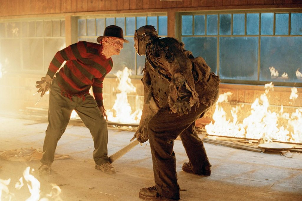 Loud and clear reviews Freddy vs Jason