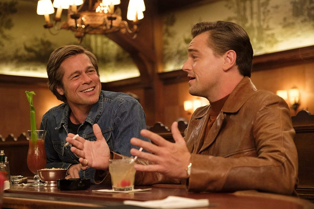 Loud and clear reviews Once Upon a Time in Hollywood brad pitt leonardo dicaprio