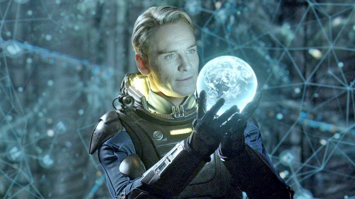 loud and clear reviews Michael Fassbender Prometheus