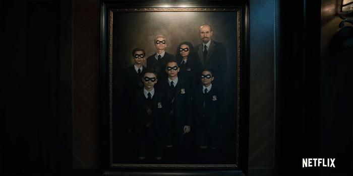 umbrella academy family portrait