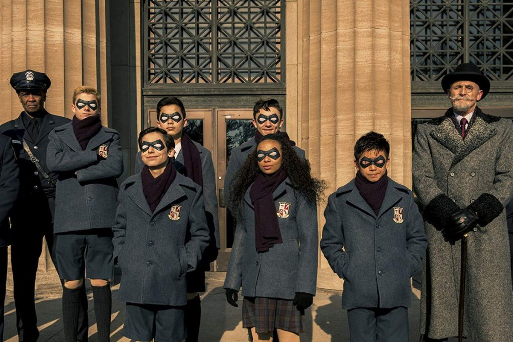 Loud and clear reviews The Umbrella Academy Netflix
