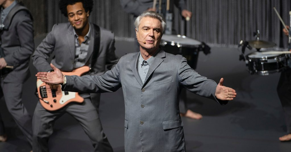 loud and clear reviews david byrne's american utopia