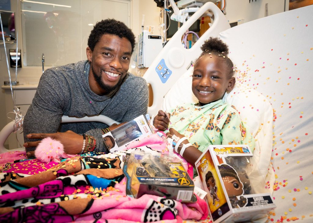 loud and clear reviews Chadwick Boseman hospital