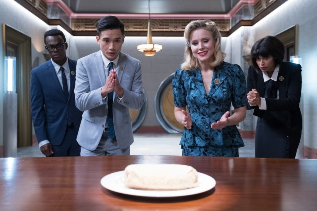 loud and clear reviews The Good Place burrito
