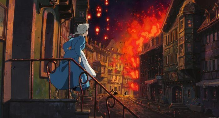 loud and clear reviews howl's moving castle war
