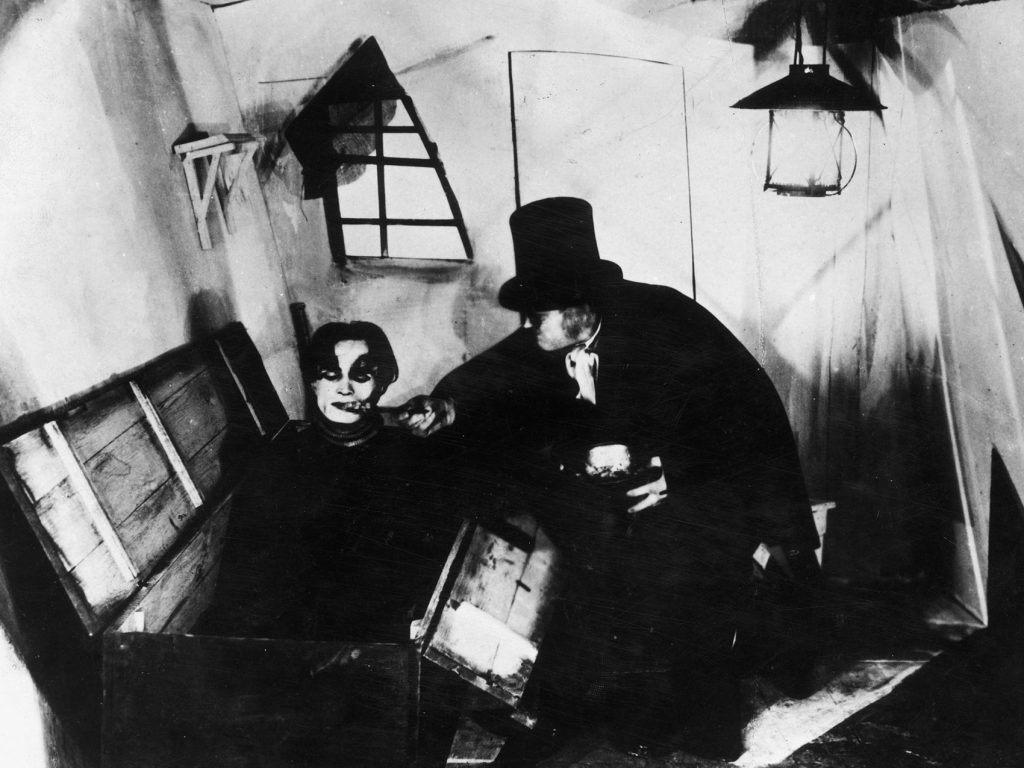 loud and clear reviews guide to horror cabinet caligari