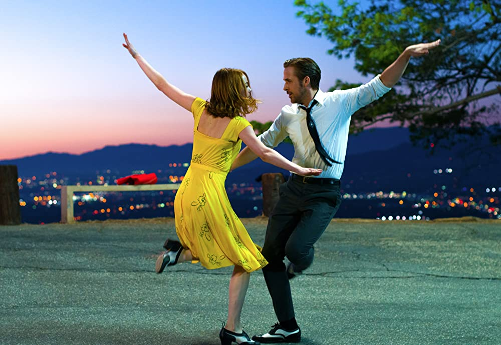loud and clear reviews feel-good films la la land