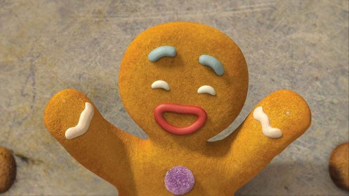 loud and clear reviews festive dishes movies shrek gingerbread man