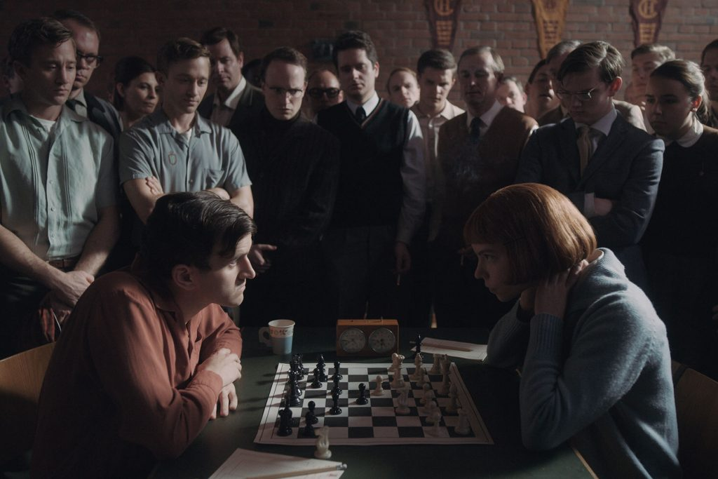 loud and clear reviews the queens gambit chess
