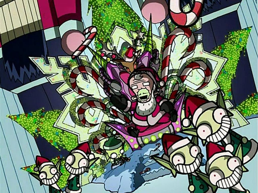 loud and clear reviews 5+ great christmas episodes tv shows invader zim