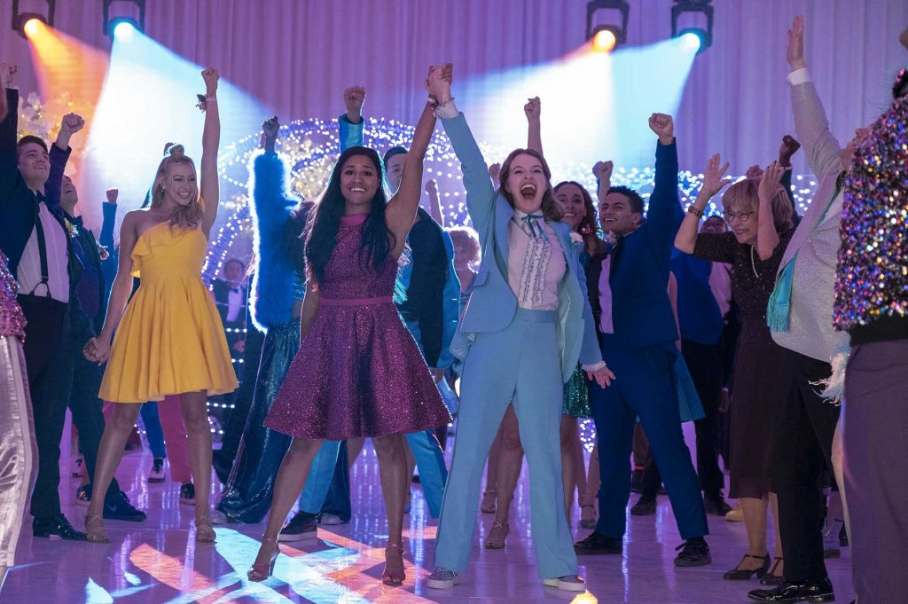loud and clear reviews The Prom Netflix