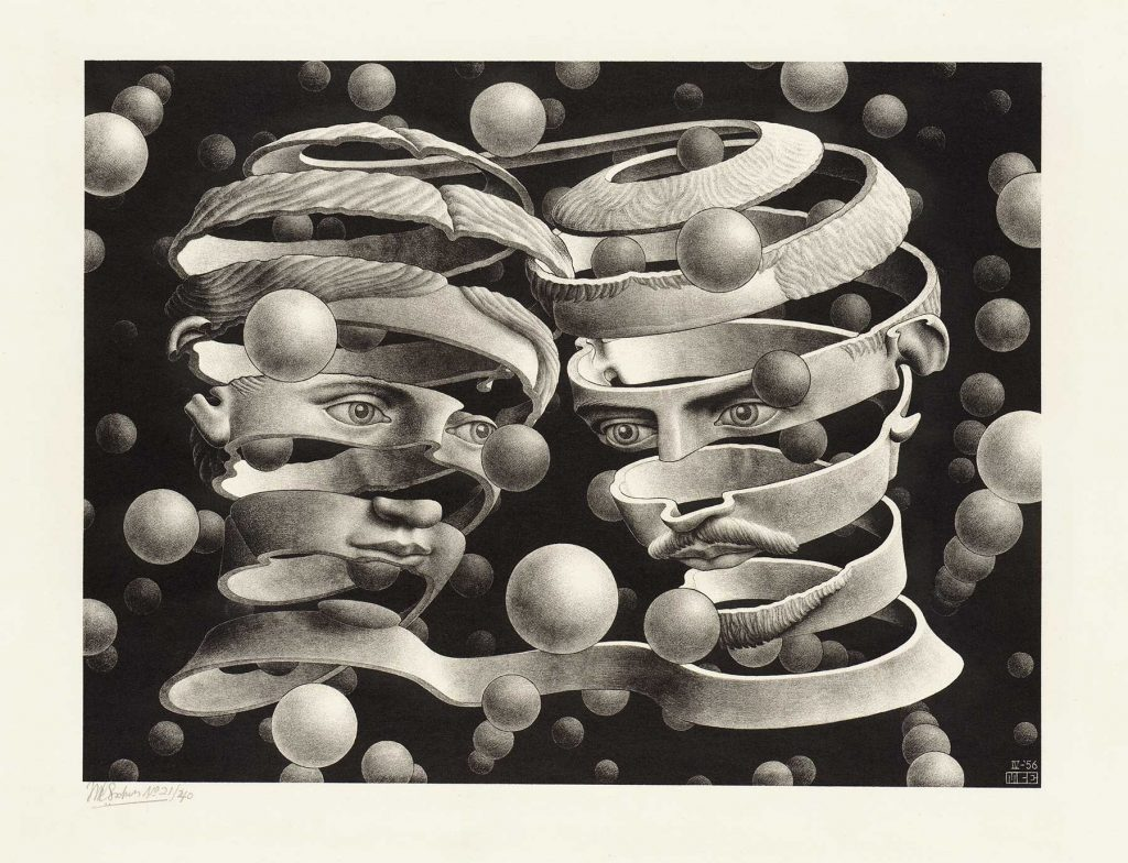 loud and clear reviews M.C ESCHER Journey to Infinity