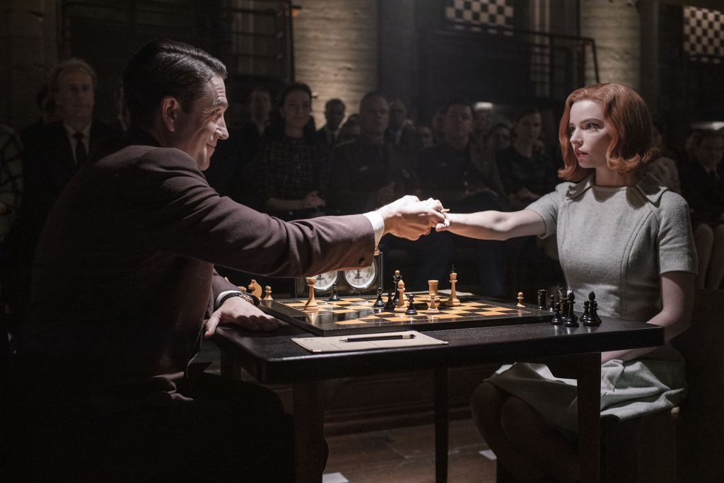 loud and clear reviews the queen's gambit