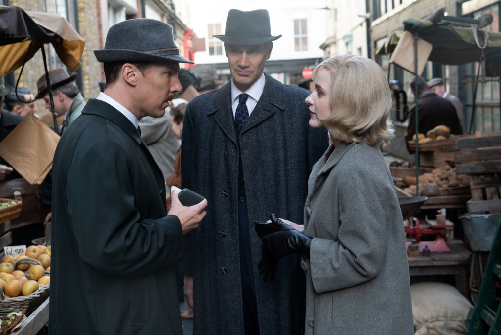 loud and clear reviews the courier benedict cumberbatch