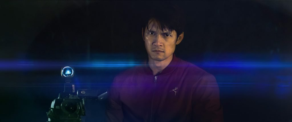 loud and clear reviews Broadcast Signal Intrusion Harry Shum Jr.