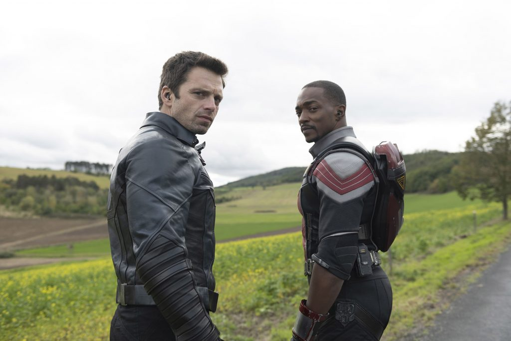loud and clear reviews The Star-Spangled Man falcon winter soldier