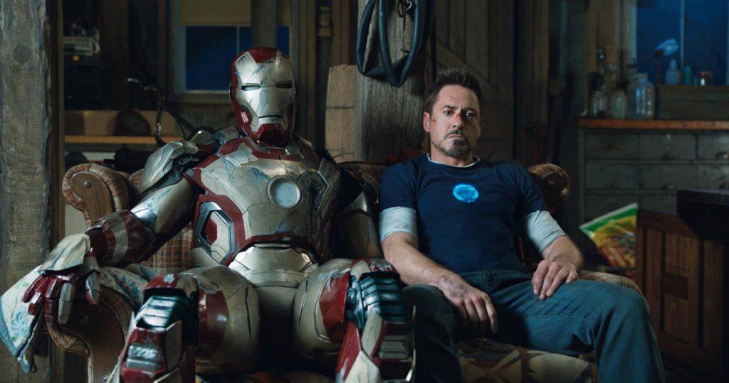 iron man 3 sofa scene