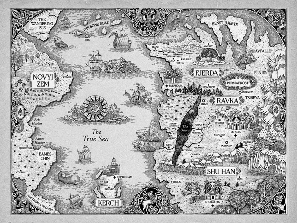 loud and clear reviews netflix's shadow and bone map grishaverse