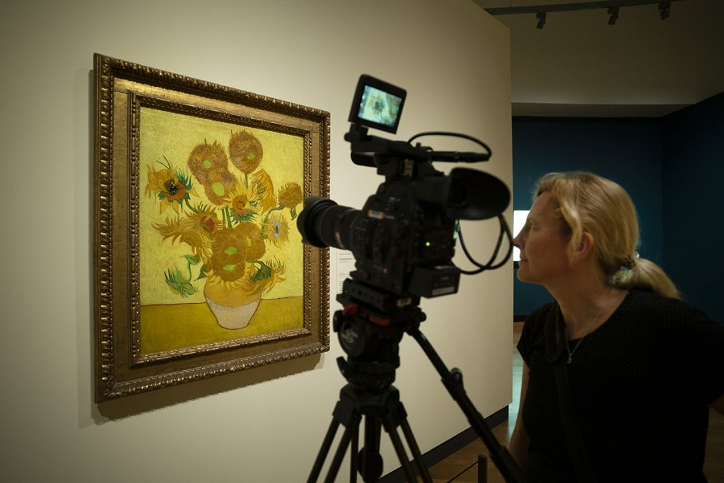 loud and clear reviews Sunflowers van gogh documentary