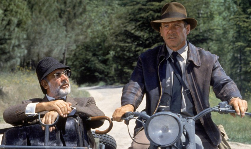 loud and clear reviews Indiana Jones and the Last Crusade
