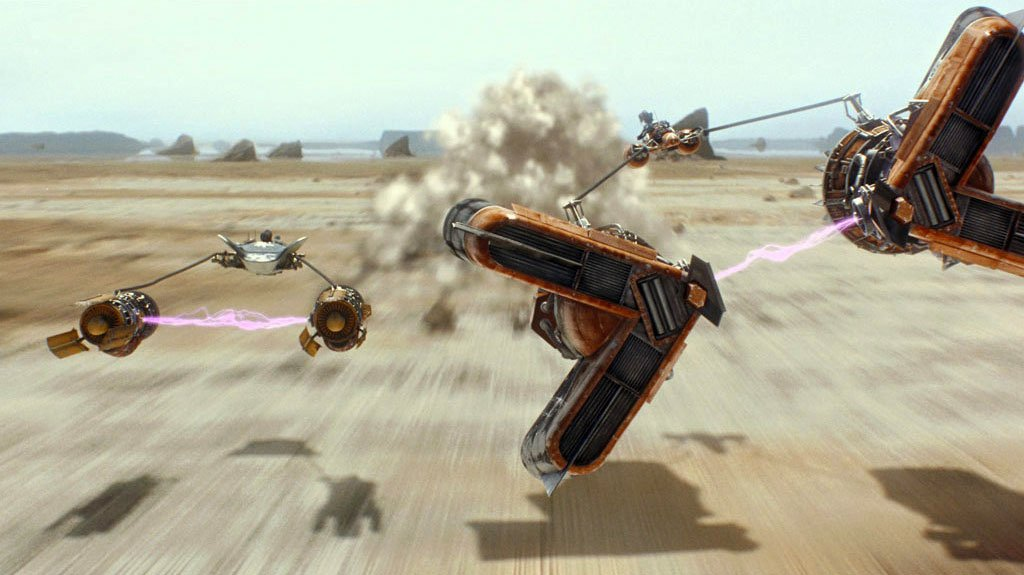 loud and clear reviews star wars prequels ten good things pod race