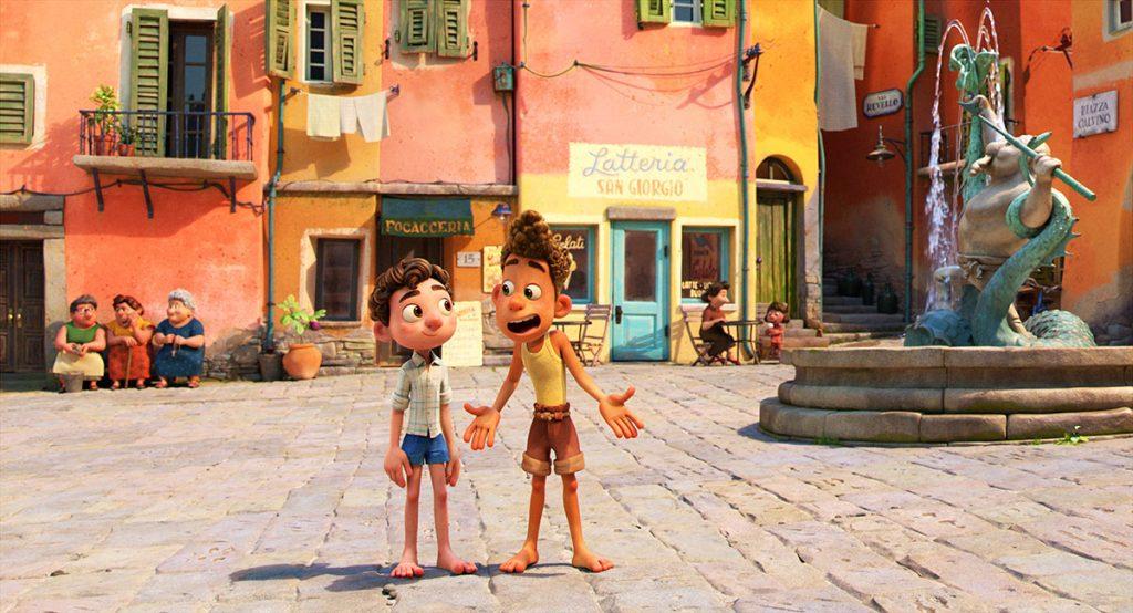 Loud and clear reviews Luca Pixar