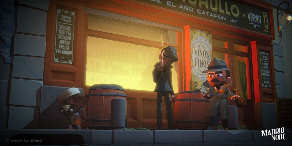 loud and clear reviews madrid noir james a castillo interview tribeca virtual reality oculus quest